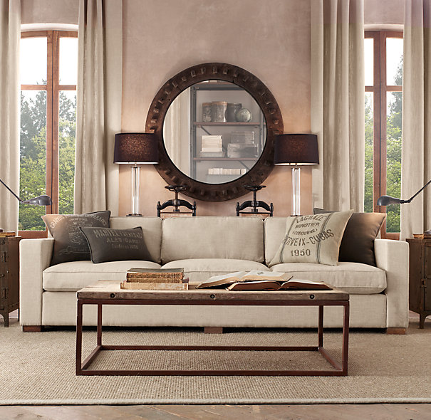Restoration Hardware Brickmakers Coffee Table Coffee Tables - Brickmakers coffee table