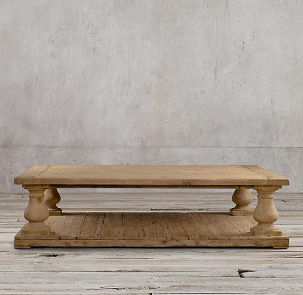 restoration hardware coffee table Restoration Hardware Wood Coffee Table | Coffee Tables restoration hardware coffee table
