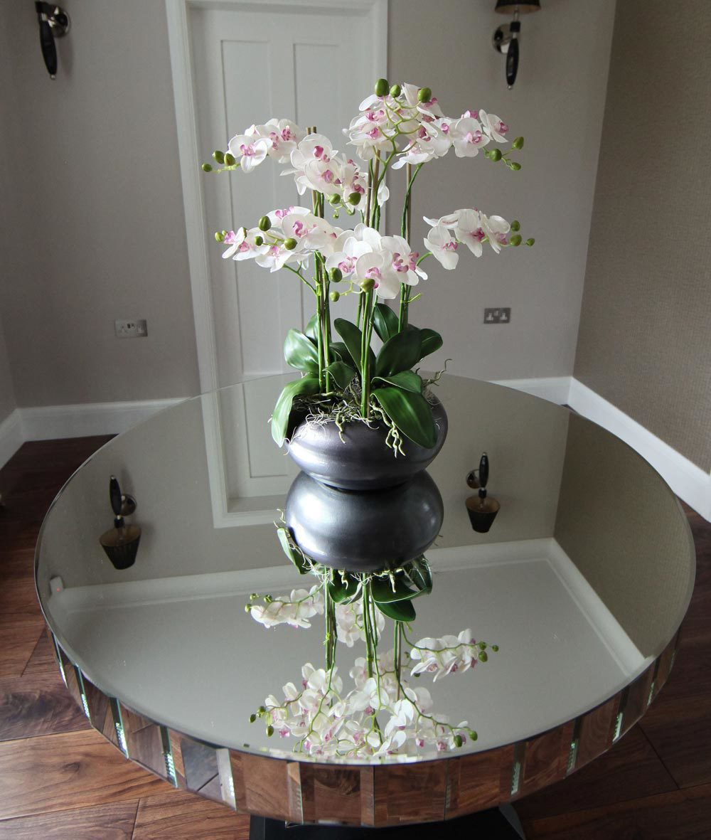 Round Mirrored Coffee Table Tables