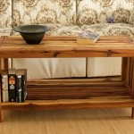 Rustic Teak Coffee Table