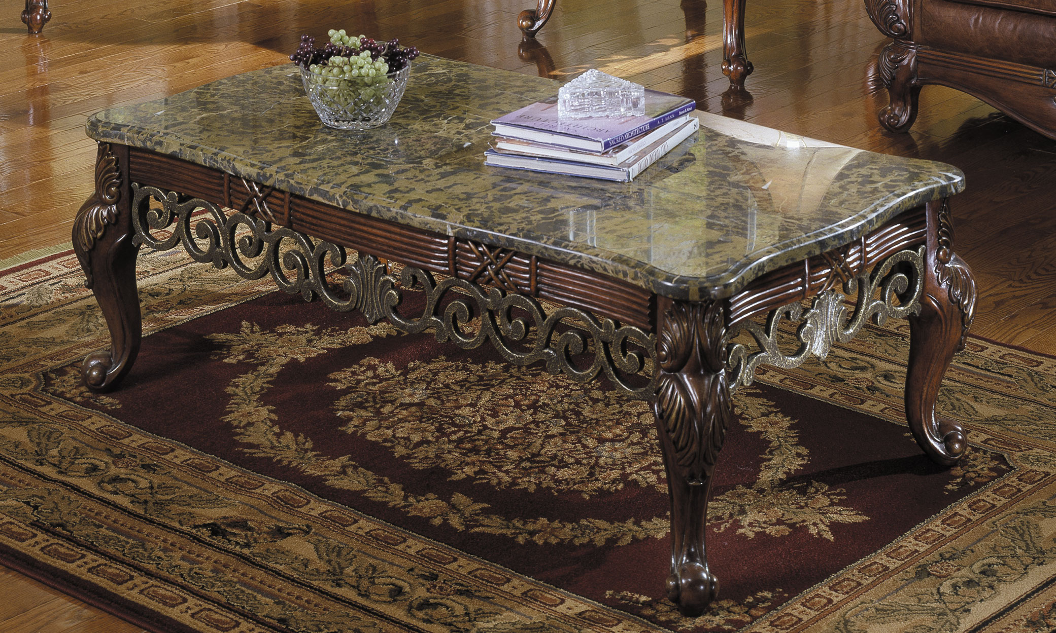 Vintage Granite Coffee Table Image And Description