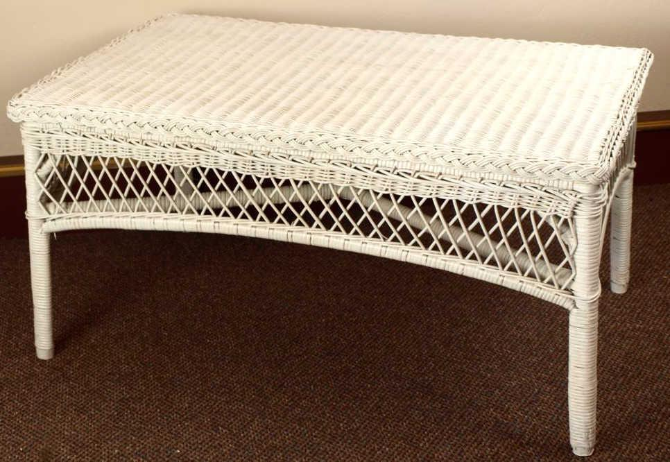 Wicker Traditional Coffee Table