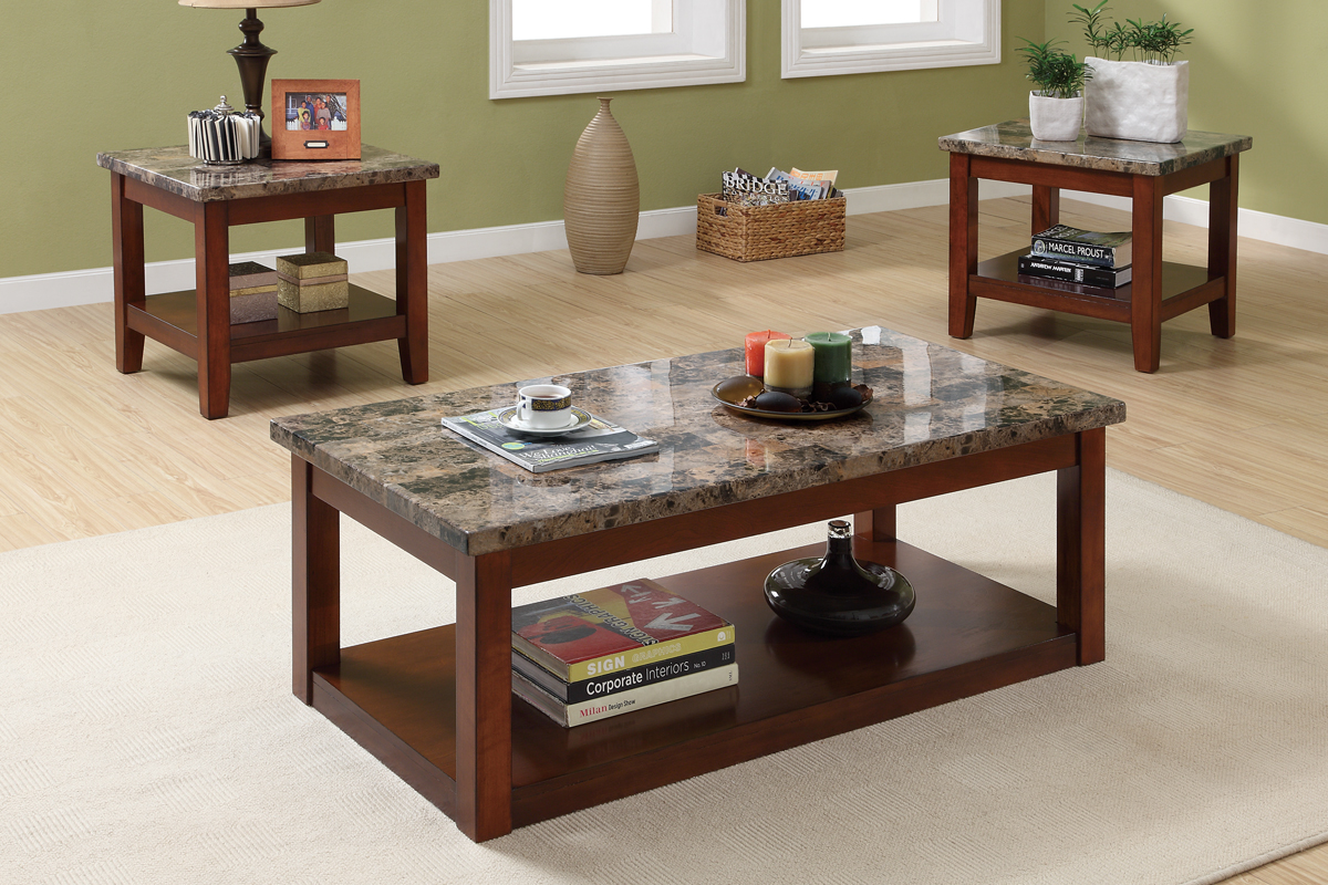 Natural Stone Granite Coffee Tables In Respectable Style