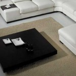 Black Massive Top Coffee Table