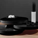 Contemporary Black Coffee Table