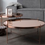 Copper Polished Coffee Table