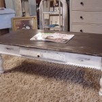 DIY Distressed Coffee Table