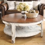 Distressed Double Coffee Table