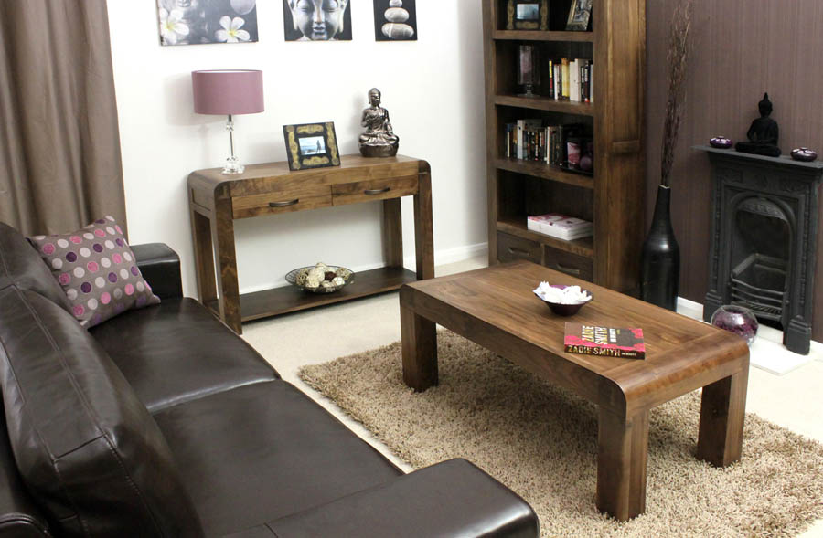 Easy Walnut Coffee Table