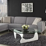 Elegant White Noguchi Coffee Table