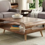 Extraordinary Walnut Coffee Table