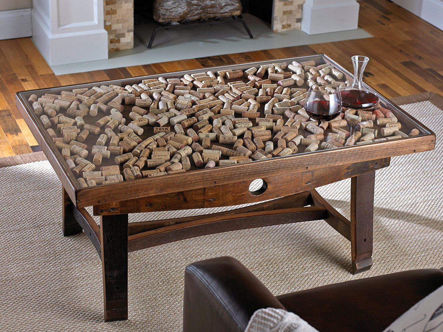 Gl Display Cork Coffee Table Tables