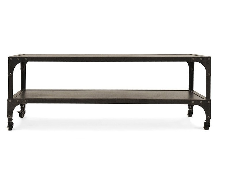 Industrial Coffee Table in Black