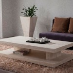 Low Stone Coffee Table