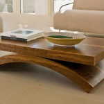 Massive Solid Wood Coffee Table