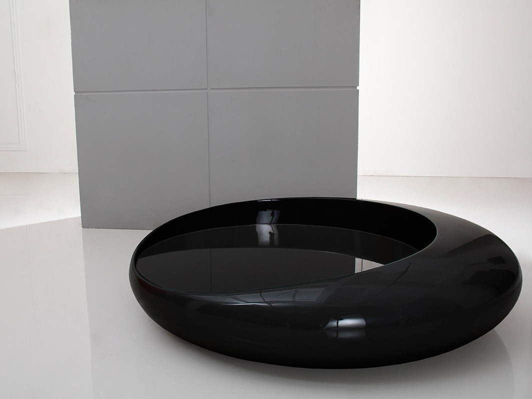 Modern Black Coffee Table