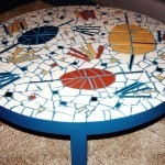 Modern Mosaic Coffee Table