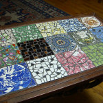 Multi-Color Mosaic Coffee Table