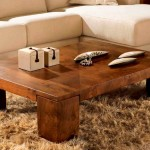 Natural  Solid Wood Coffee Table