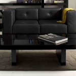Polished Black Coffee Table