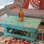 Pretty Distressed Coffee Table