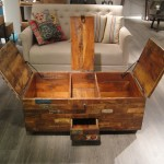Reclaimed Wood Chest Coffee Table