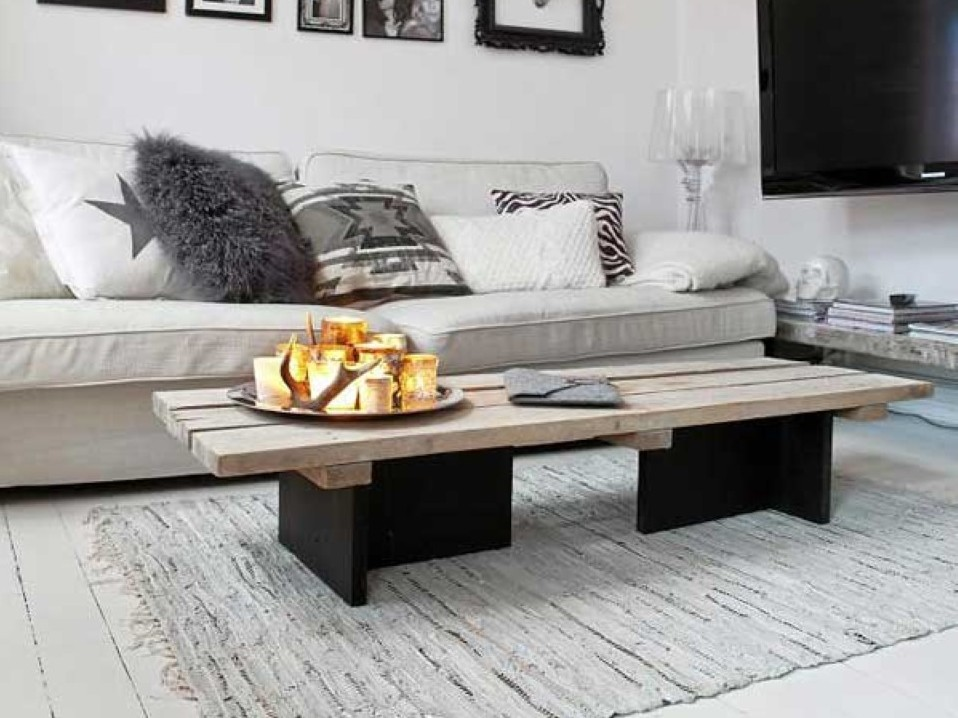 Rough Narrow Coffee Table