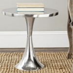 Shiny Silver Coffee Table