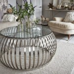 Silver Coffee Table Drum
