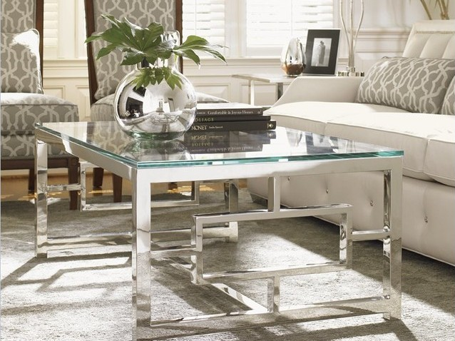 Silver Gl Top Coffee Table Tables