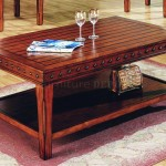 Stylish Solid Wood Coffee Table