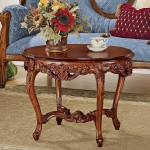 Traditional Small Coffee Table