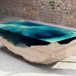 Unique Coffee Table Ocean Style