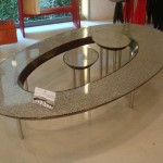 Unique Oval Coffee Table