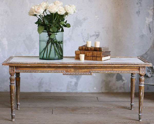 Vintage Elegant Coffee Table