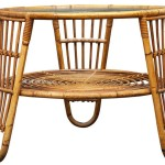 Creative Bamboo Coffee Table