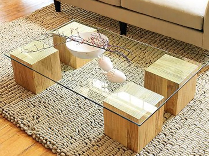 DIY Unusual Coffee Table