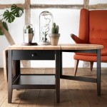 Folding Drop Leaf Coffee Table