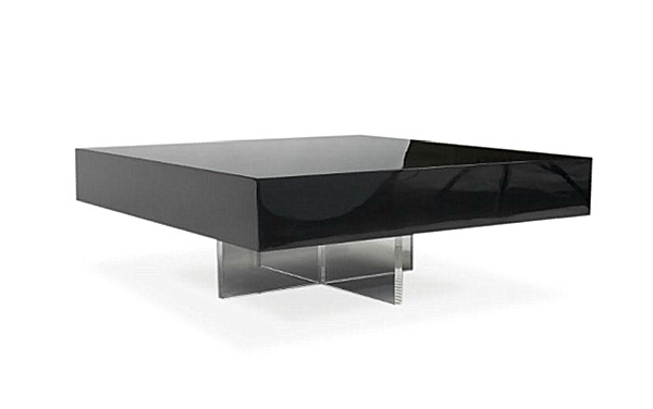 Bon Modern Black Lacquer Coffee Table Image And Description