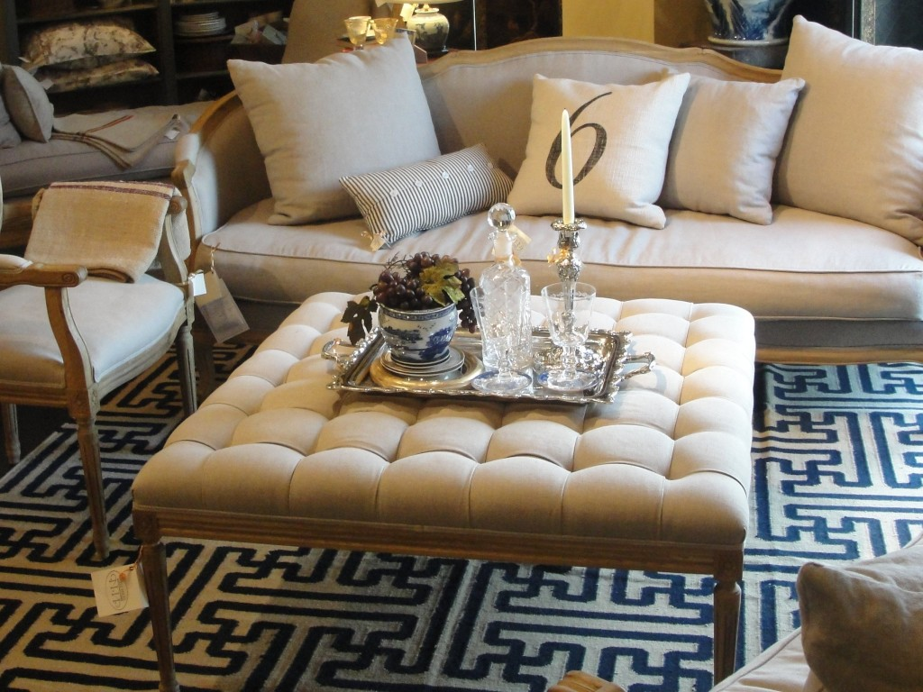 35 Amazing Ottoman Coffee Table Designs Table Decorating