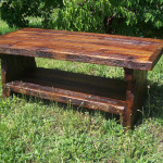 Outside Pine Coffee Table