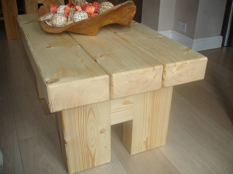 Rude Pine Coffee Table