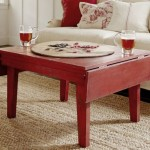 Rustic Drop Leaf Coffee Table
