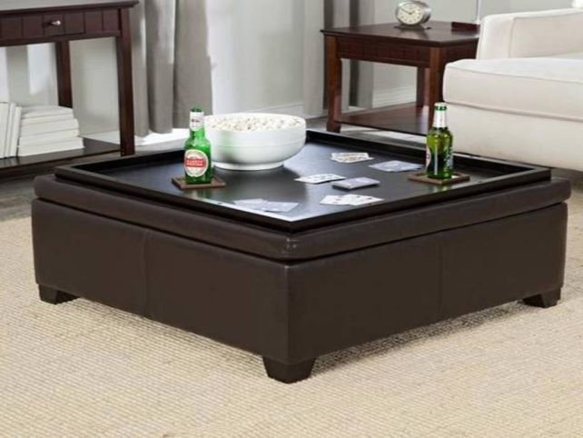 Bon Ottoman Coffee Table Tray