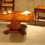 Square Pedestal Coffee Table