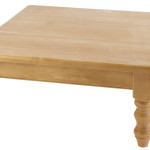 Square Pine Coffee Table