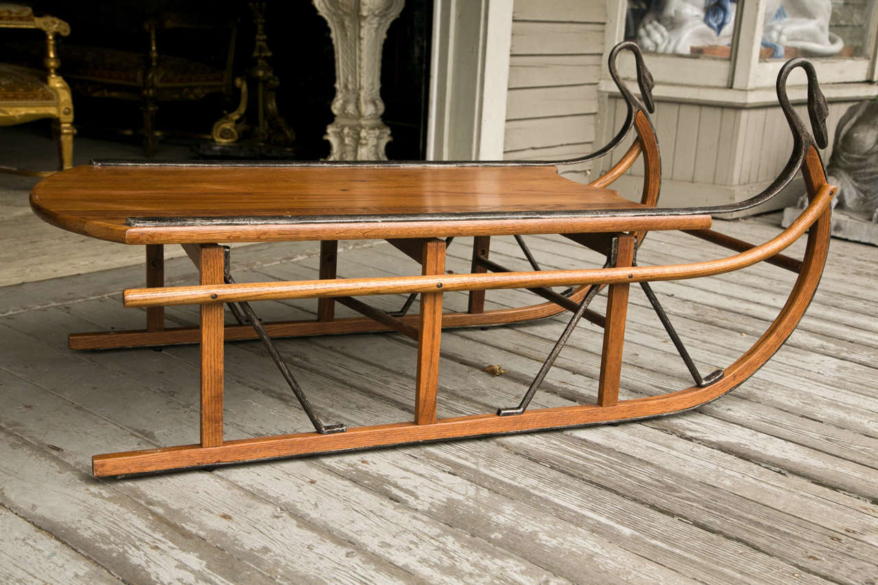 Unusual Coffee Table Unusual Coffee Table In The Sled Form