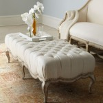 Elegant Upholstered Coffee Table