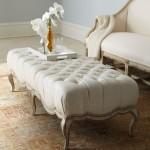 Elegant Upholstered Coffee Table
