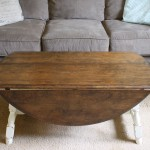 Wooden Drop Leaf Coffee Table